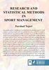 تصویر از روش های پژوهش و آماری در مدیریت ورزشی